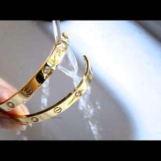 Authentic bangle cartier bracelet