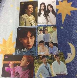 Yes card-GF BTOB EXO GOT7