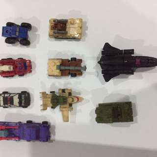 Transformers Mini Bots set-of-11