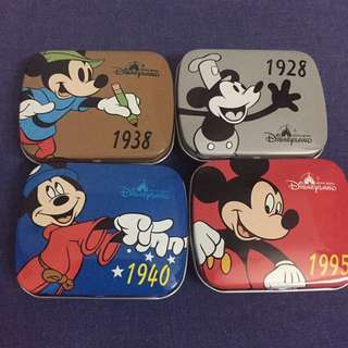 Mickey Mouse Aluminium box