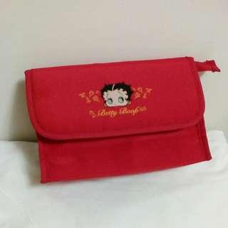 Betty Boop紅色化妝包