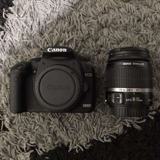 CANON EOS 500D WITH KIT LENS