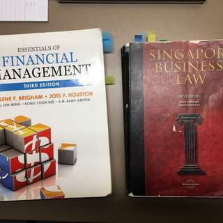 AB1201 Financial Management and AB1301 Business Law