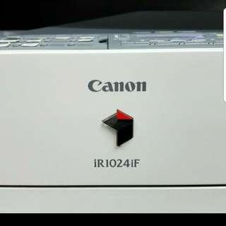 Canon打印影印機