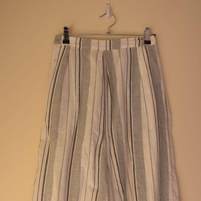 3/4 Stripe Culottes