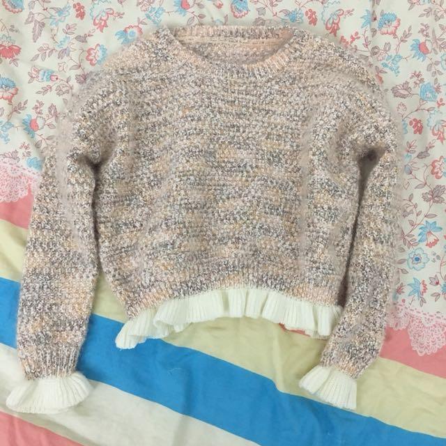 穿一次)毛衣