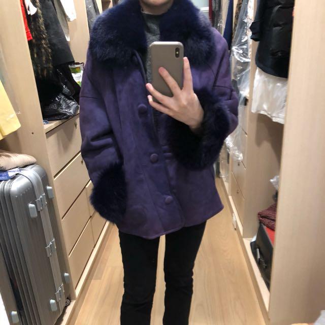豐厚毛外套