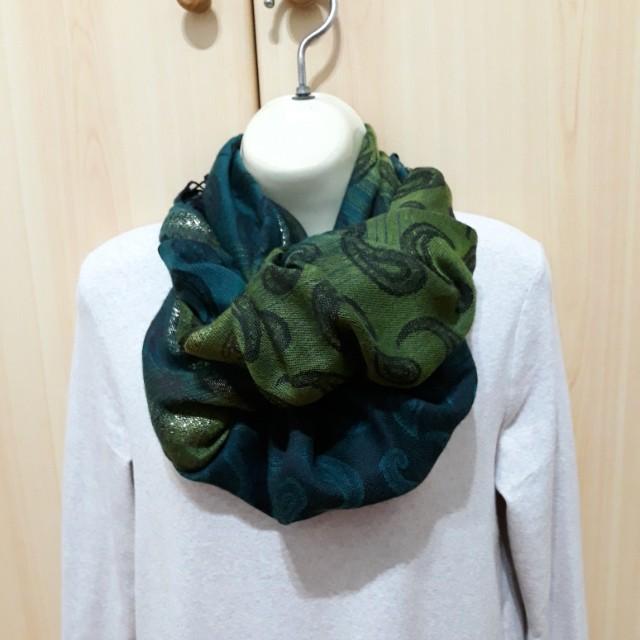 變形蟲長絲巾