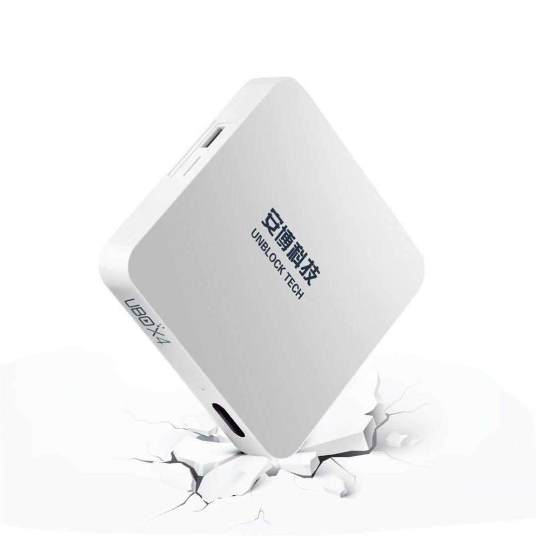 -二手- 安博盒子4代 幾乎全新 剩10個月台灣保固 贈遙控器 /電視盒/小米/電視/TV//機上盒