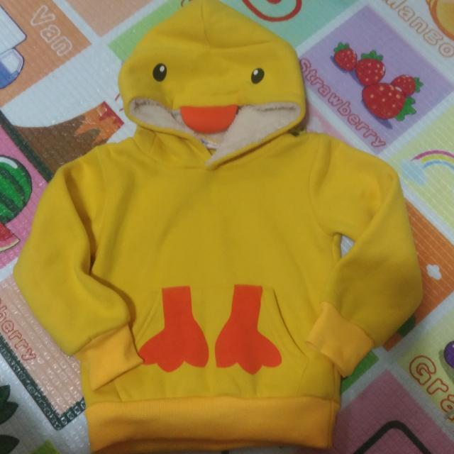 黃色小鴨 保暖上衣