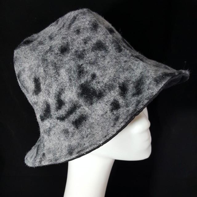 手作 毛呢造型四片帽 頭圍58 修飾肉肉臉極佳
