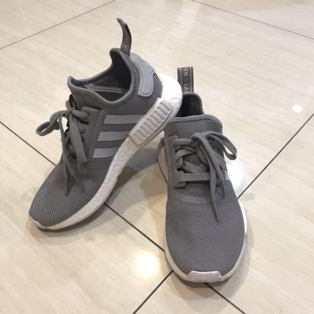 正品 NMD RUNNER ADIDAS ORIGINALS Vapour Grey 灰色/白色