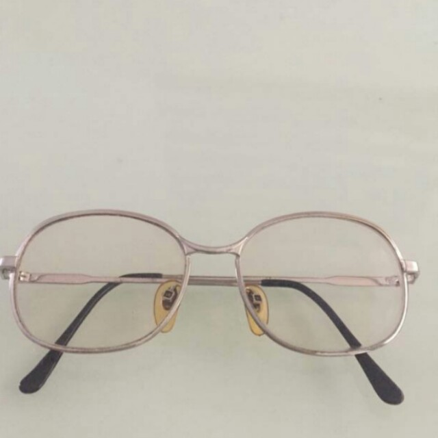 古著 vintage 早期 法國製 銀色 眼鏡