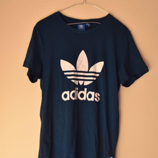 Adidas Blue Trefoil Top