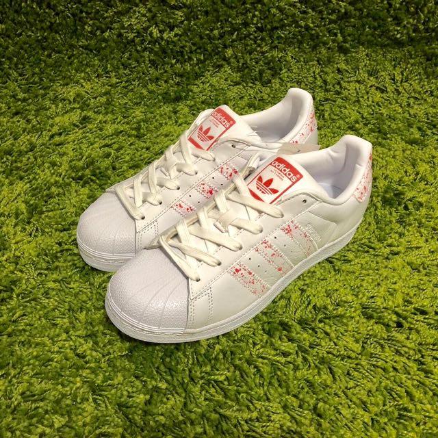 Adidas Superstar - Splash Coral, Women