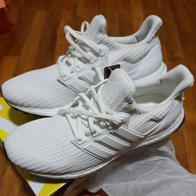 525c6ad9f09 Adidas Ultra Boost 4.0 Triple White US 9.5