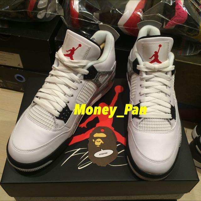 Air Jordan 4 OG 大理石