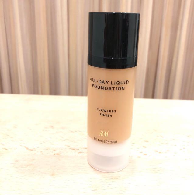 All day liquid foundation