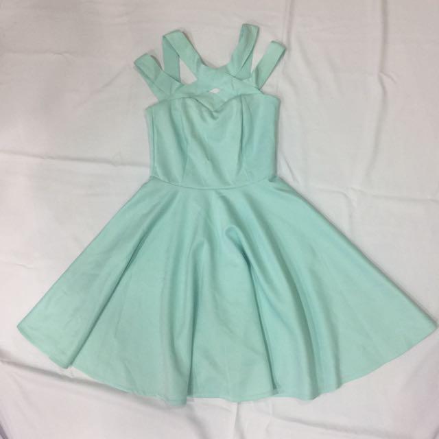 Apartment 8 Pastel Blue Green Dress Women S Fashion Clothes On Carou