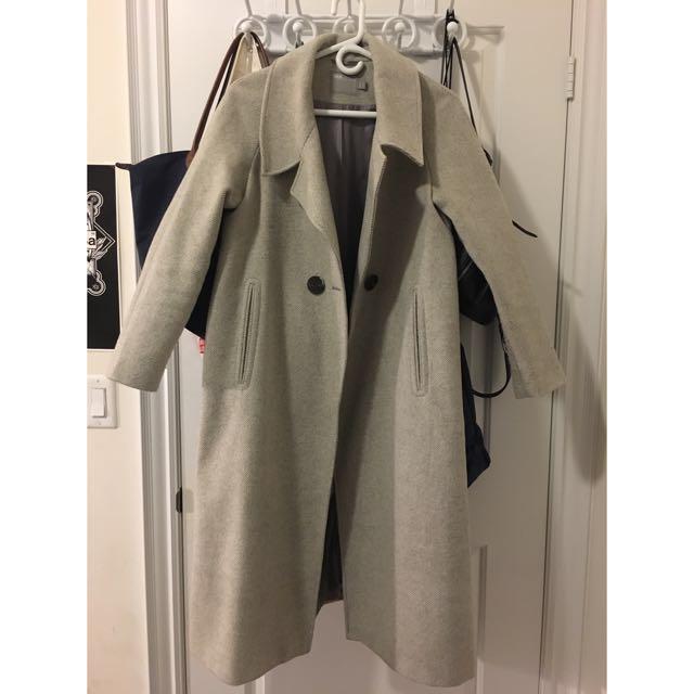 ASOS Oversized Grey Coat