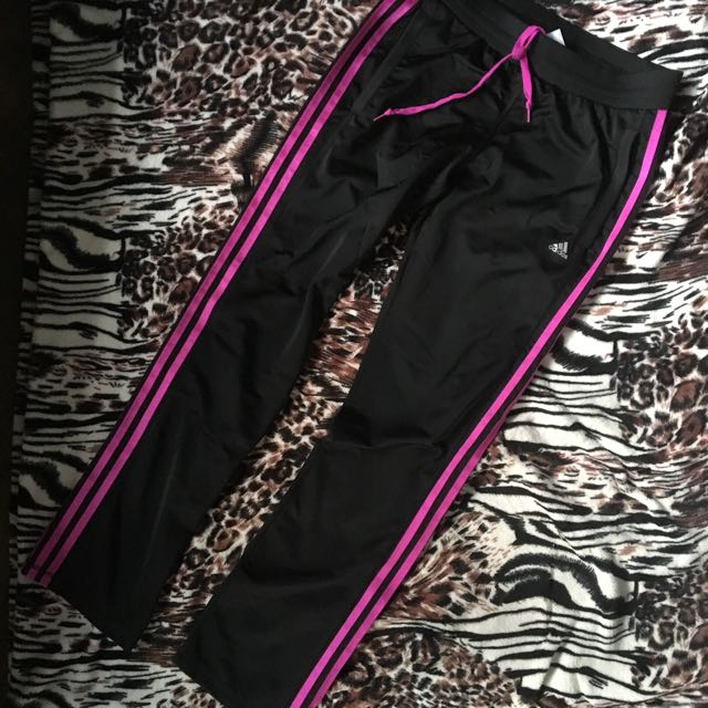 Auth Adidas Climalite Track Pants