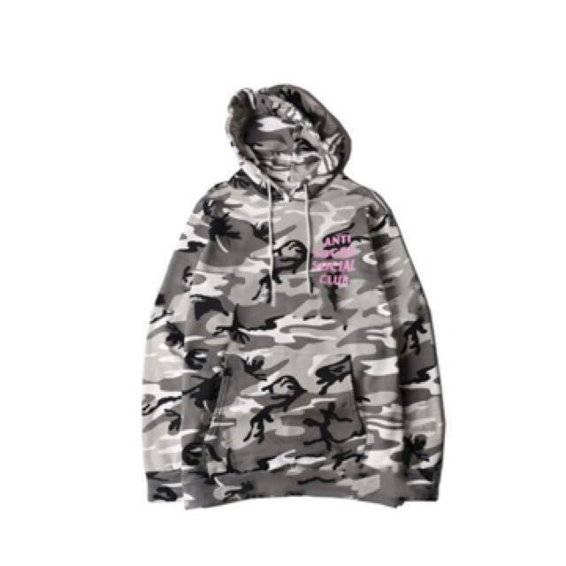 AUTH ASSC Anti Social Social Club Snow Camo