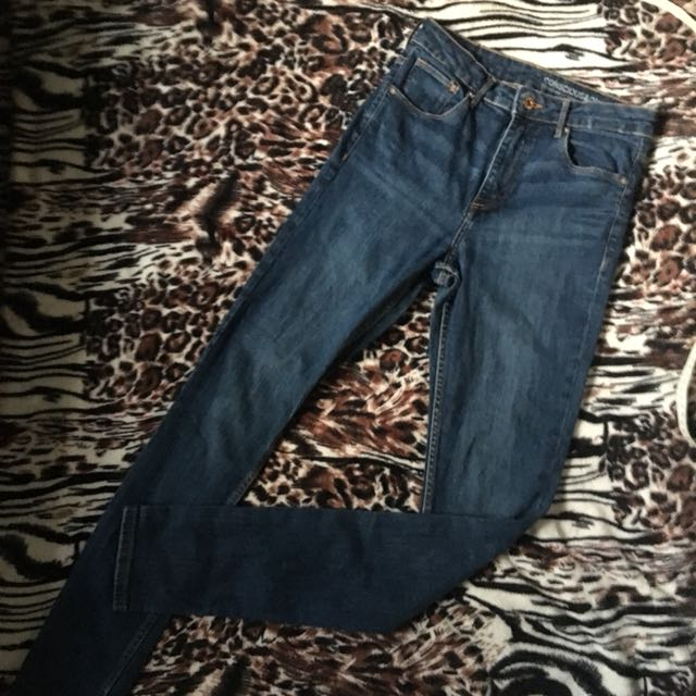 Auth H&M High Waist Skinny Jeans