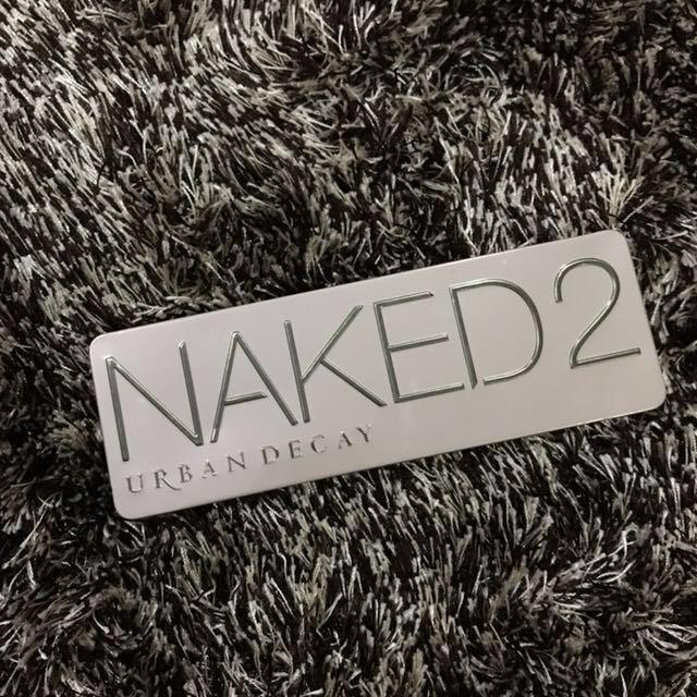 AUTH UD Naked 2 eyeshadow pallete