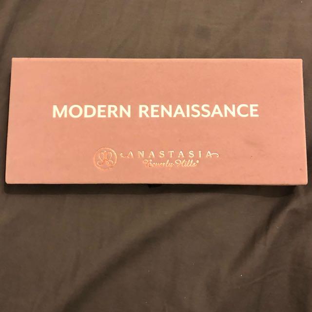 Authentic Anastasia Beverly Hills Modern Renaissance Palette