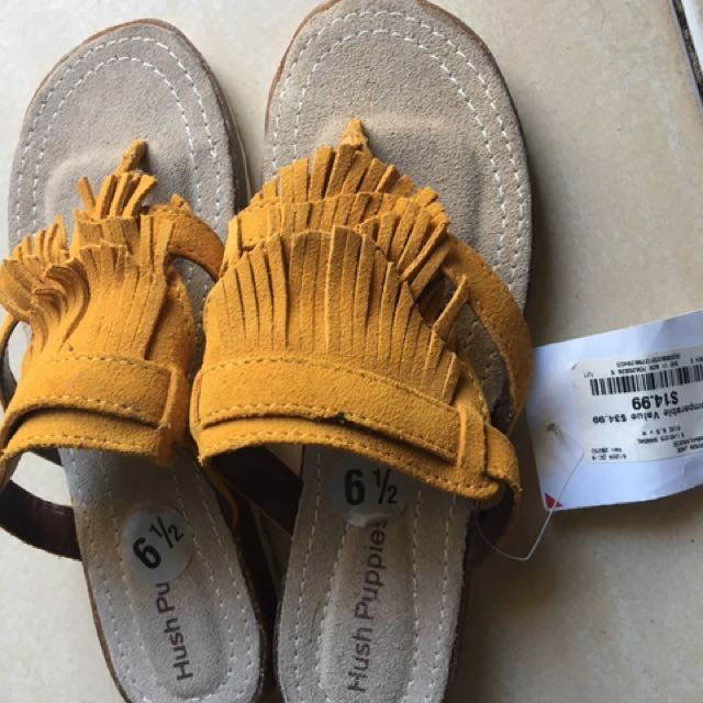 Authentic Fossil sandals
