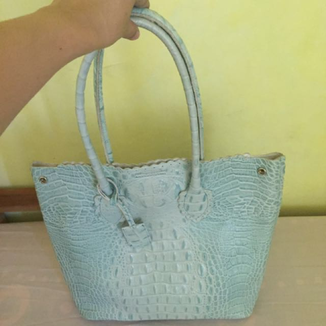 Authentic Furla Croc bag