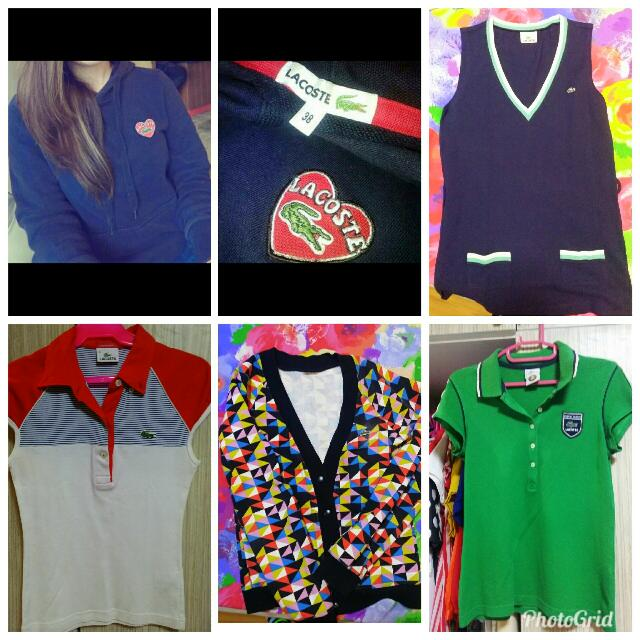 Authentic Lacoste Take All (5pcs)