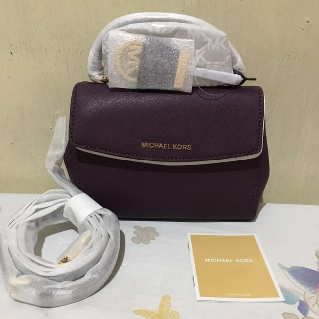 Authentic Michael Kors Ava Extra Small Crossbody Bag