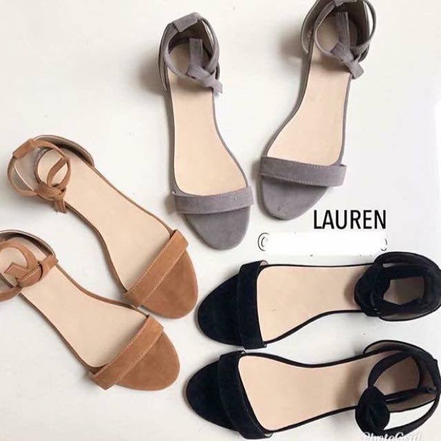 Avail flats and 1inch heels (price start @399)