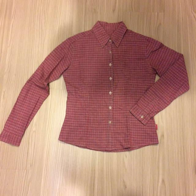 baleno 格紋襯衫