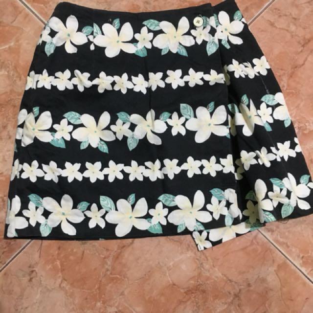 Bangkok floral skirt
