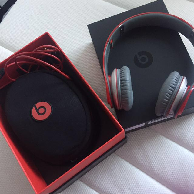 Beats By dre Solo HD red