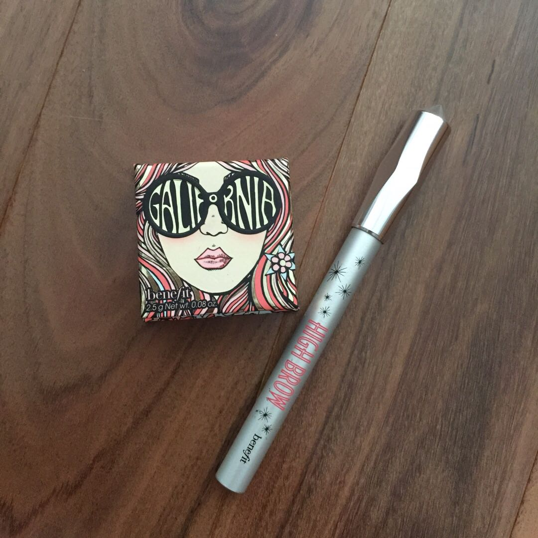 Benefit Blush and High brow