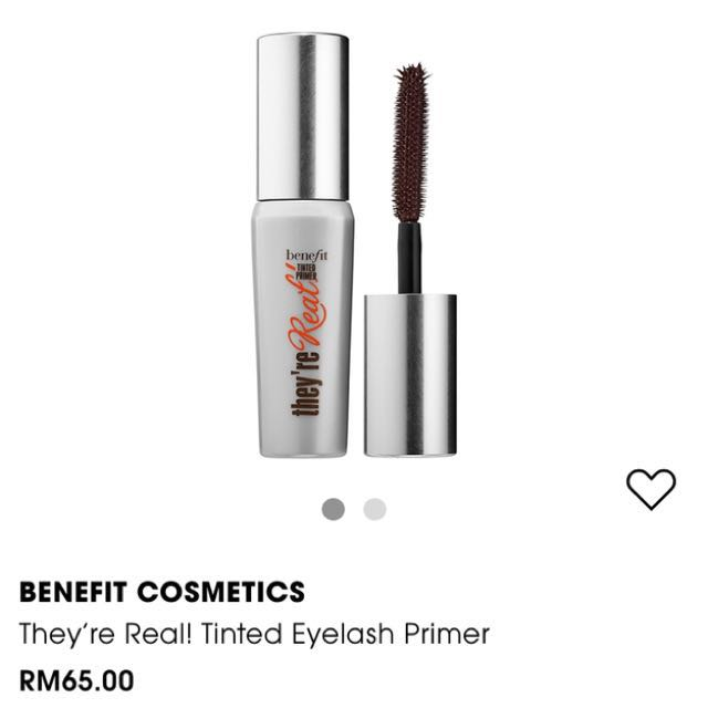 c585e487d0e BENEFIT They're Real Tinted Eyelash Primer - mini size (0.14oz), Health &  Beauty, Makeup on Carousell