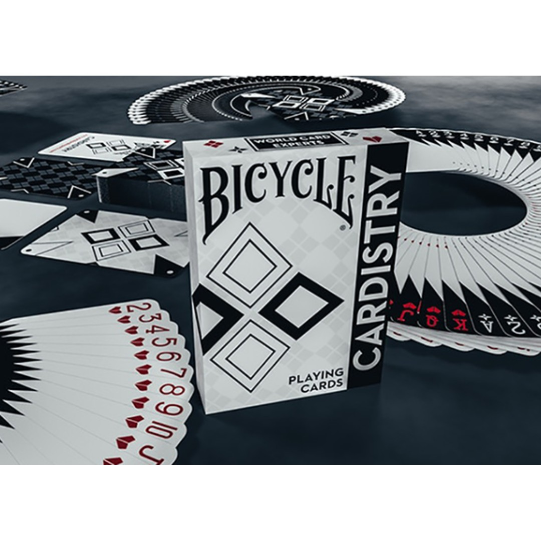 De/'vo Playing Cards USPCC Cardistry Black and White Bicycle Limited Ed.