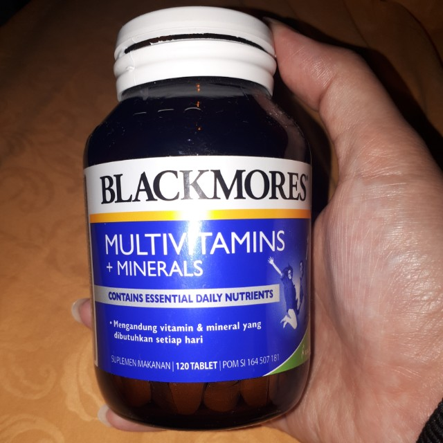 Blackmores Multivitamins +minerals