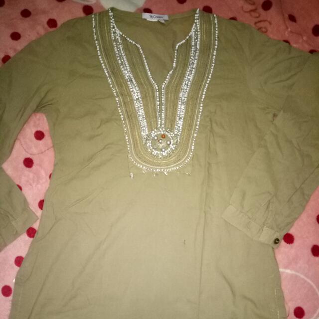 Blouse Hijau Le Couture Size S