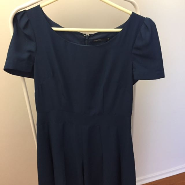 Blue Summer work dress