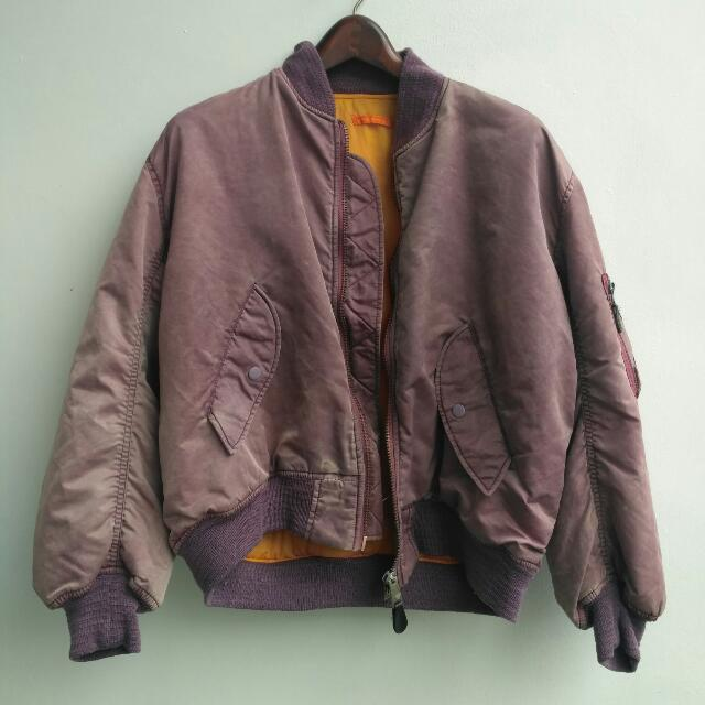 Bomber MA-1 Purple (Unbranded)