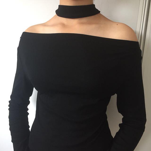 Brand new cute black top