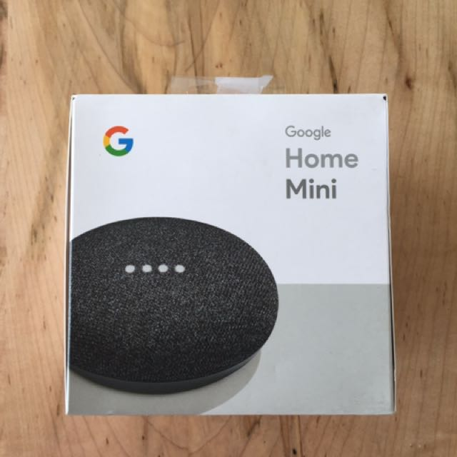 Brand New Google Home Mini (Charcoal)