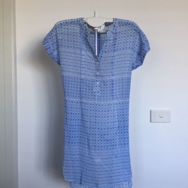 BRAND NEW WITH TAG Blue Summer Dress