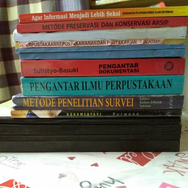 Buku Kuliah Jurusan Ilmu Perpustakaan
