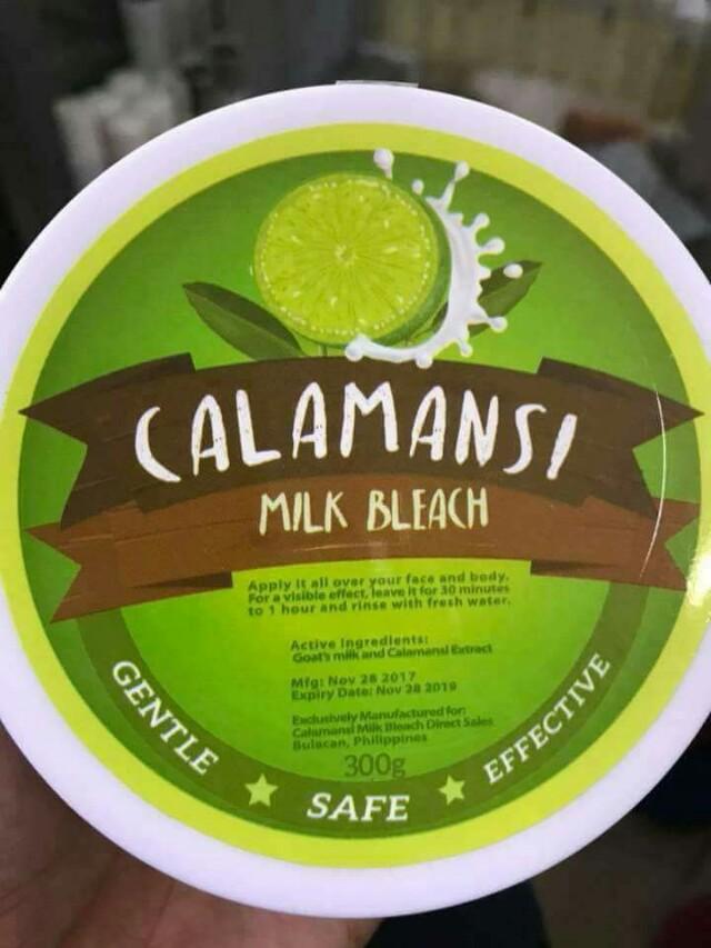 Calamansi Milk Bleach