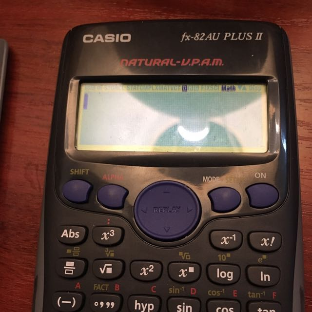 Calculator scientific calculator fx82AU
